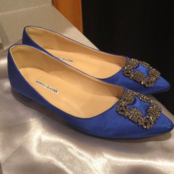 551c6ca20ba9 123456789101112 4ffdb ae36d  shop royal blue size 40 manolo blahnik hangisi  flats ed591 2e145